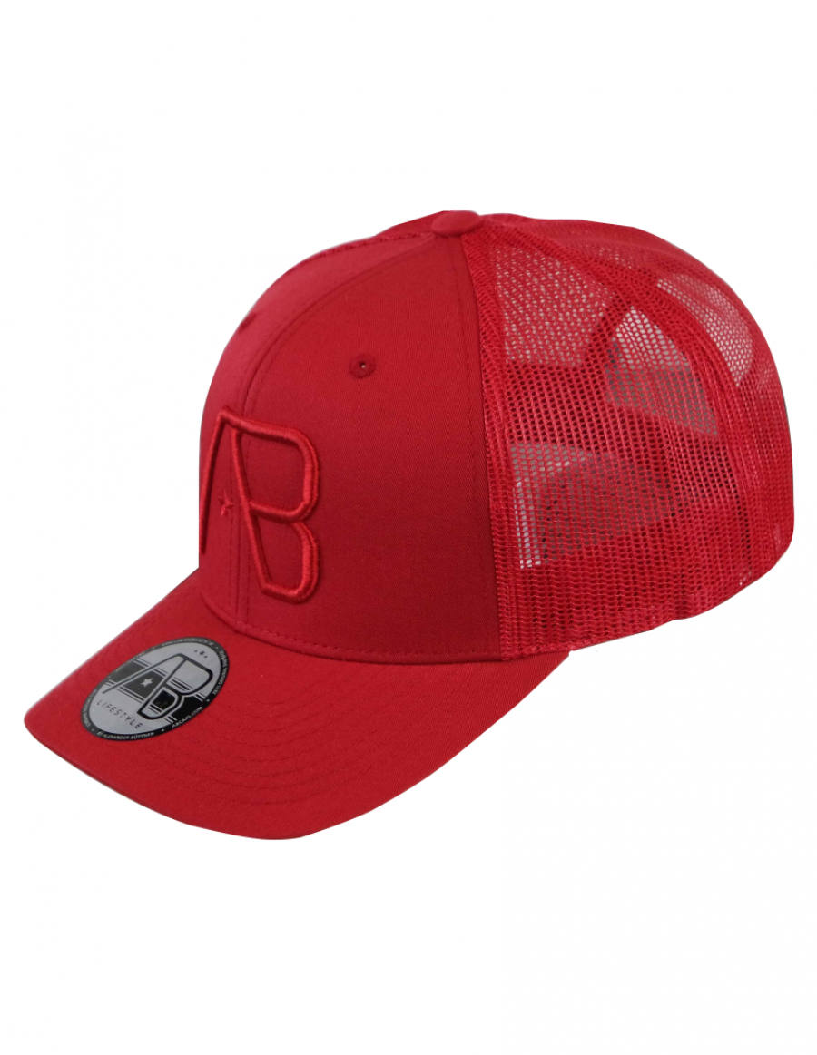 AB cap Retro Trucker - all red
