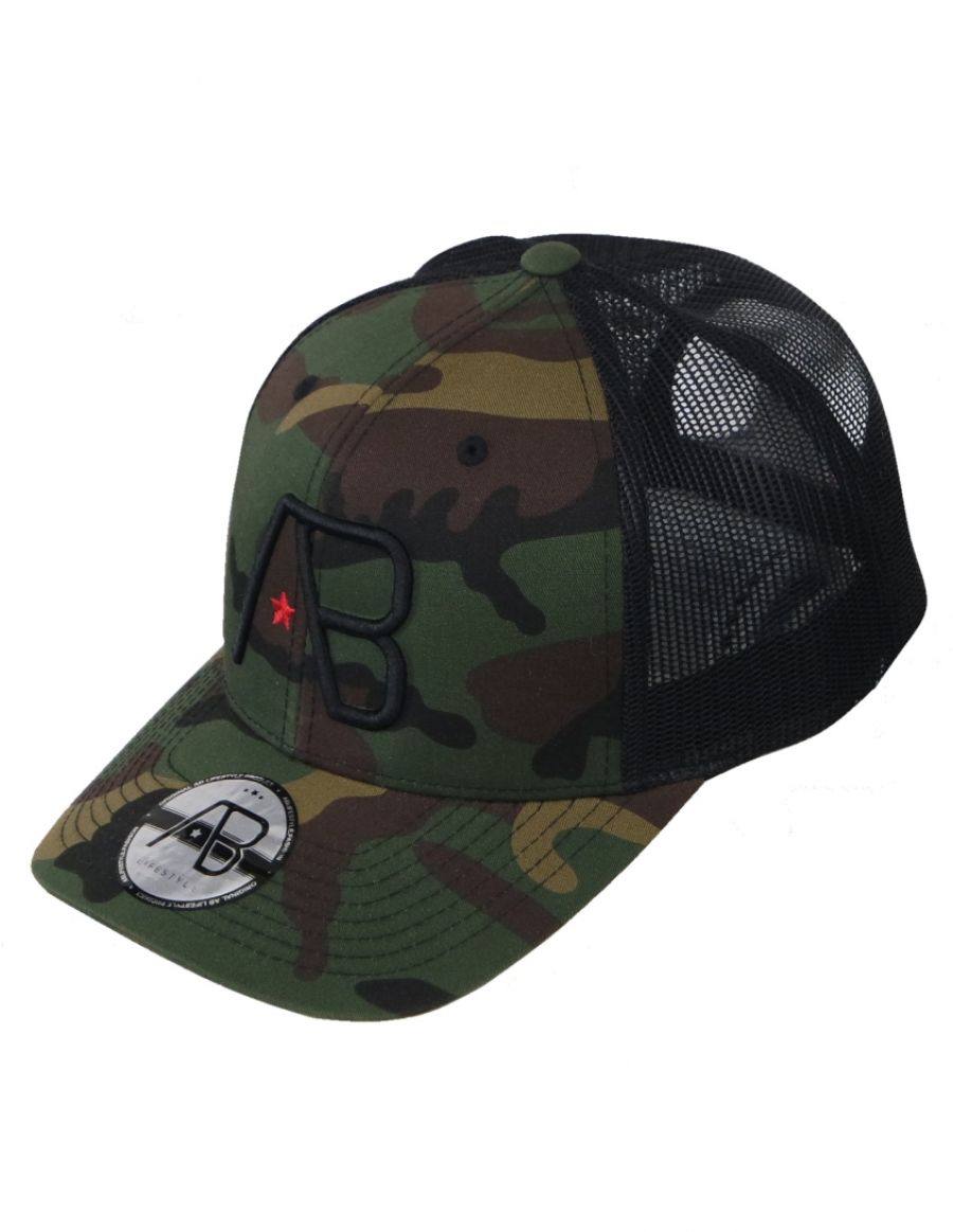 Ab Cap Retro Trucker Camo 39 95 Incl
