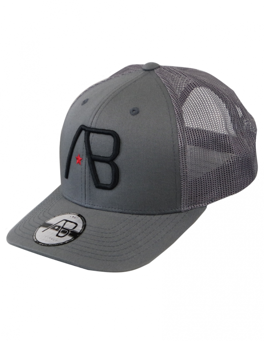 AB cap Retro Trucker - metal
