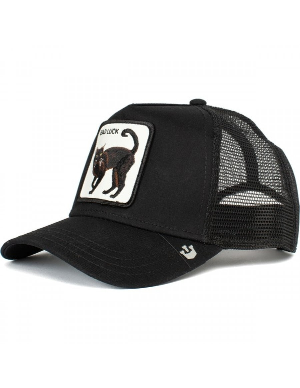 Goorin Bros. Bad Luck Cat Trucker cap - Black