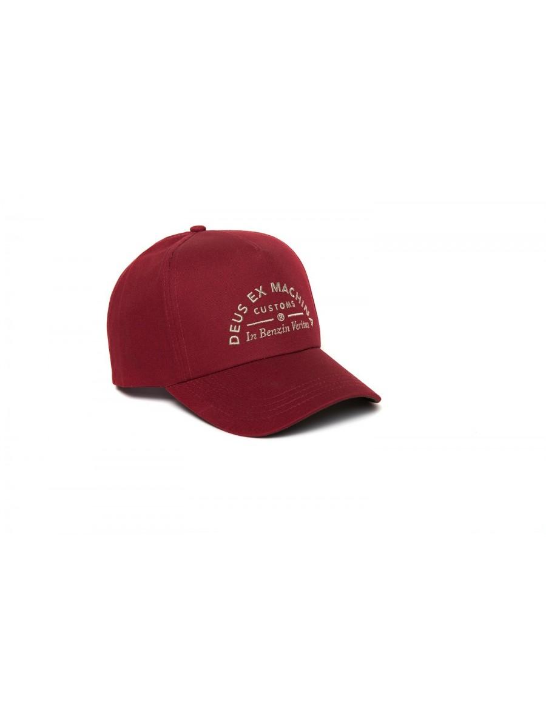 DEUS Benzin Trucker cap - Dark Red