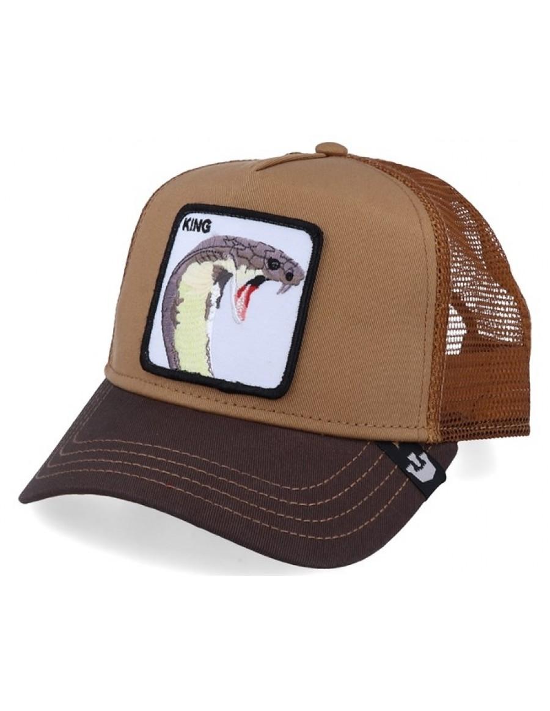 Goorin Bros. Biter Trucker cap - Brown
