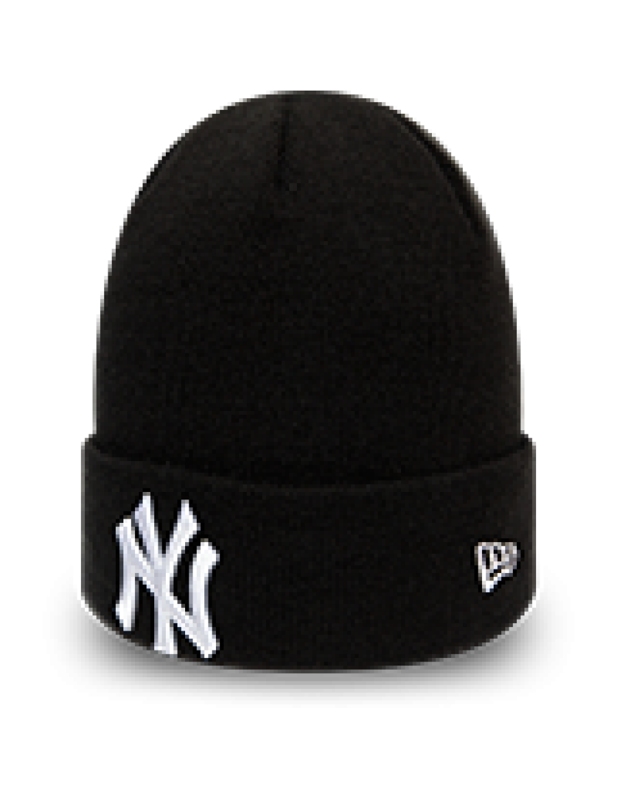 New Era League Essential Cuff Knit New York Yankees - Black