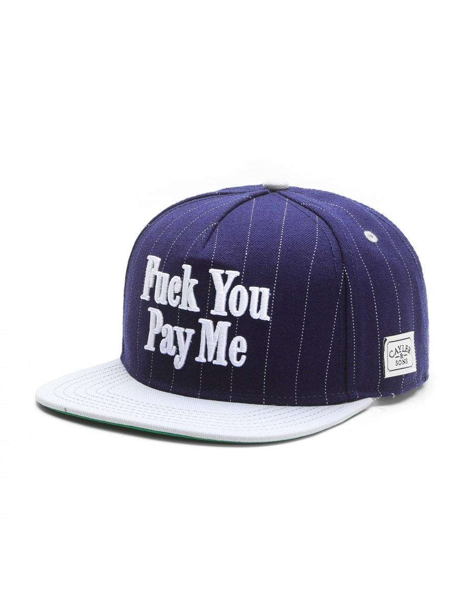 Cayler & Sons Fuck you Pay me snapback cap