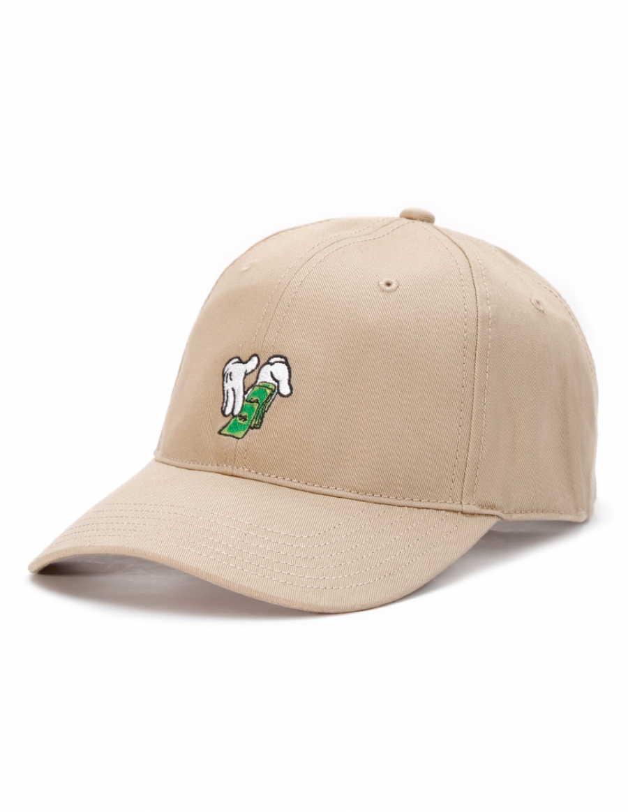 Cayler & Sons Make It Rain - Curved dad cap - sand