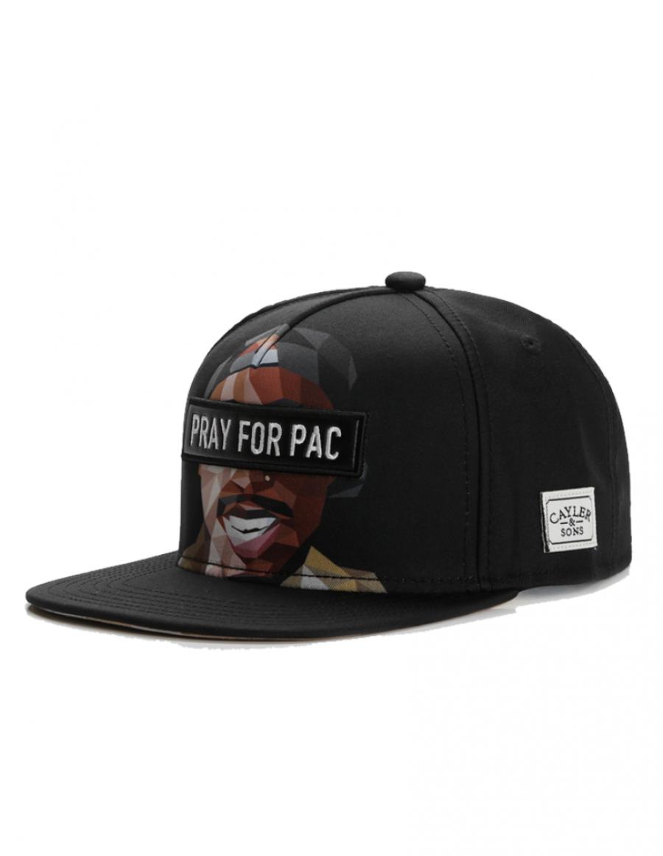 Cayler & Sons Pacasso snapback cap - black