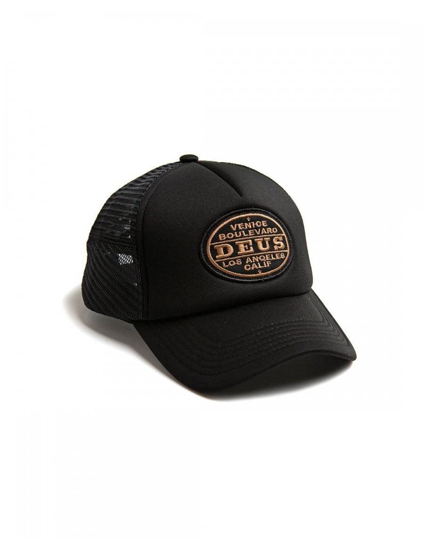 DEUS Certified Trucker cap - Black