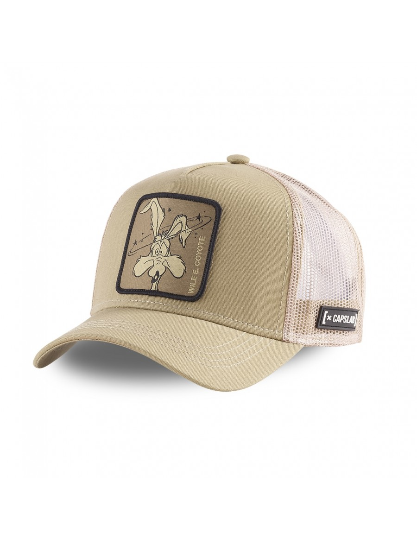 Capslab - Wile E. Coyote Trucker cap - Brown