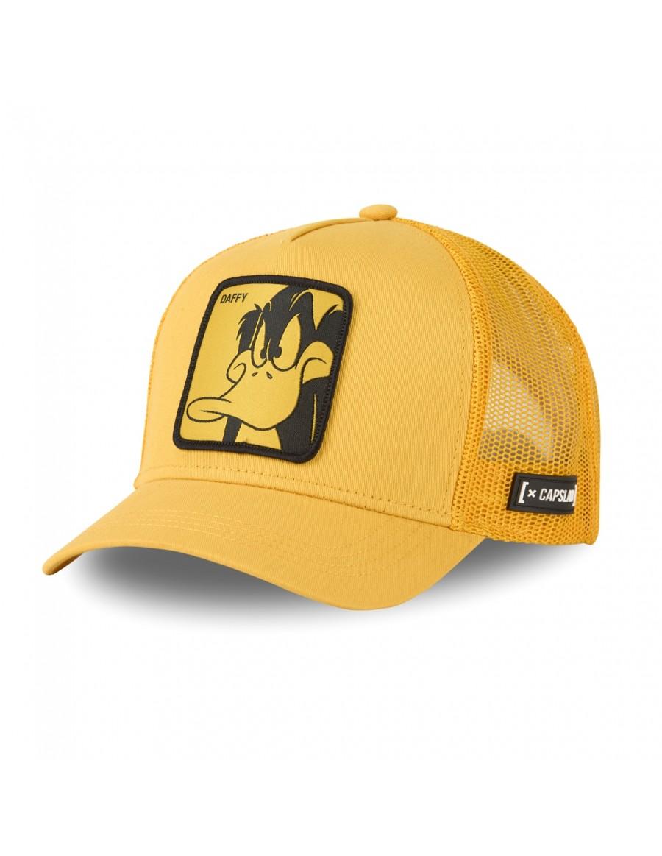 Capslab - Daffy Trucker cap - Yellow