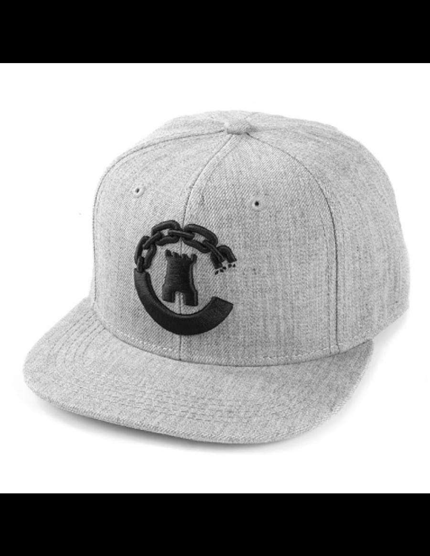 Crooks & Castles Hybrid C snapback grey