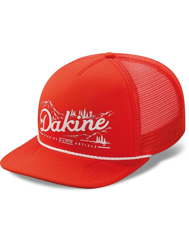 Dakine Mountain flat bill trucker cap - orange