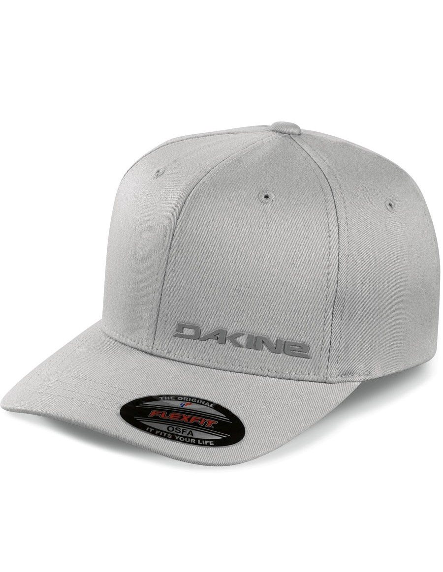 Dakine silicone rail flexfit cap - grey - Sale
