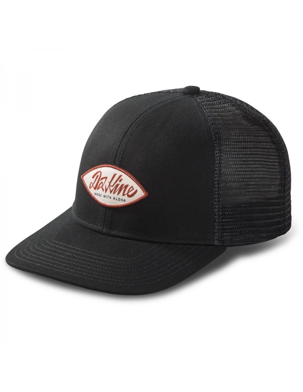 Dakine Surf Script Trucker Cap - Black