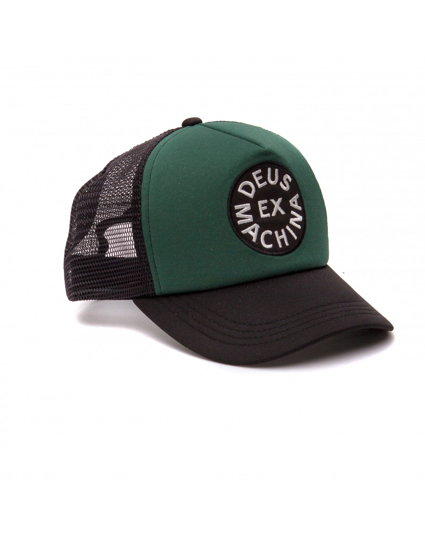 DEUS Coutinho Trucker cap - Green-Black