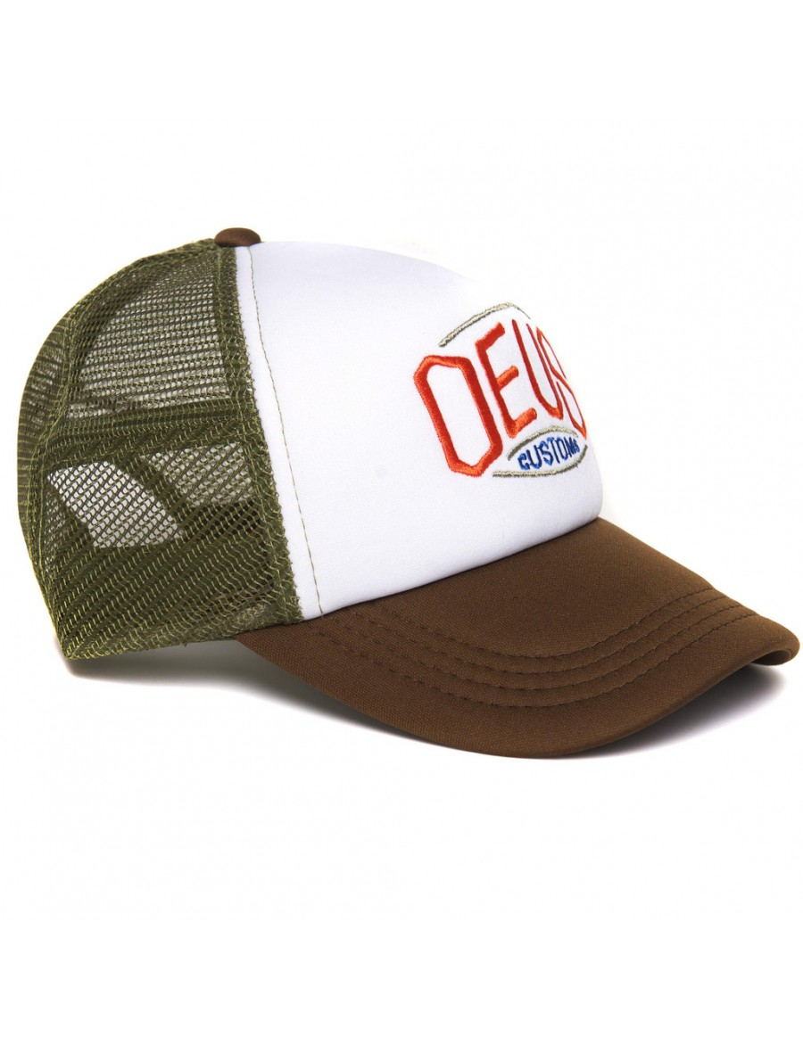 DEUS Trucker pet Hexagonal - brown