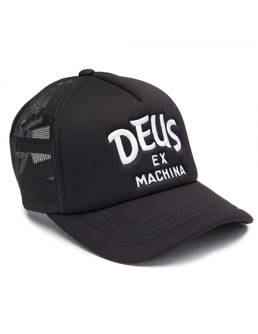 DEUS Pet Curve Trucker - black