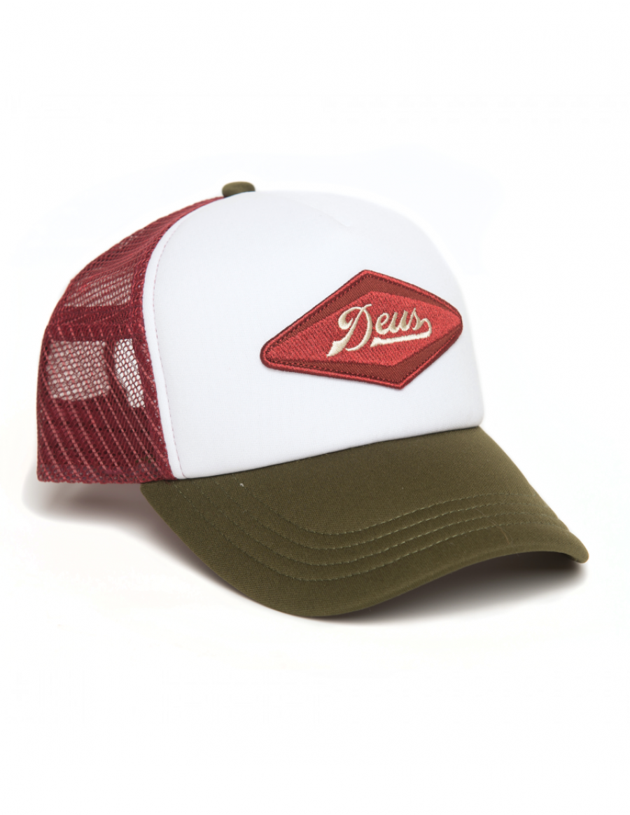 DEUS Pet Diamond Trucker - olive