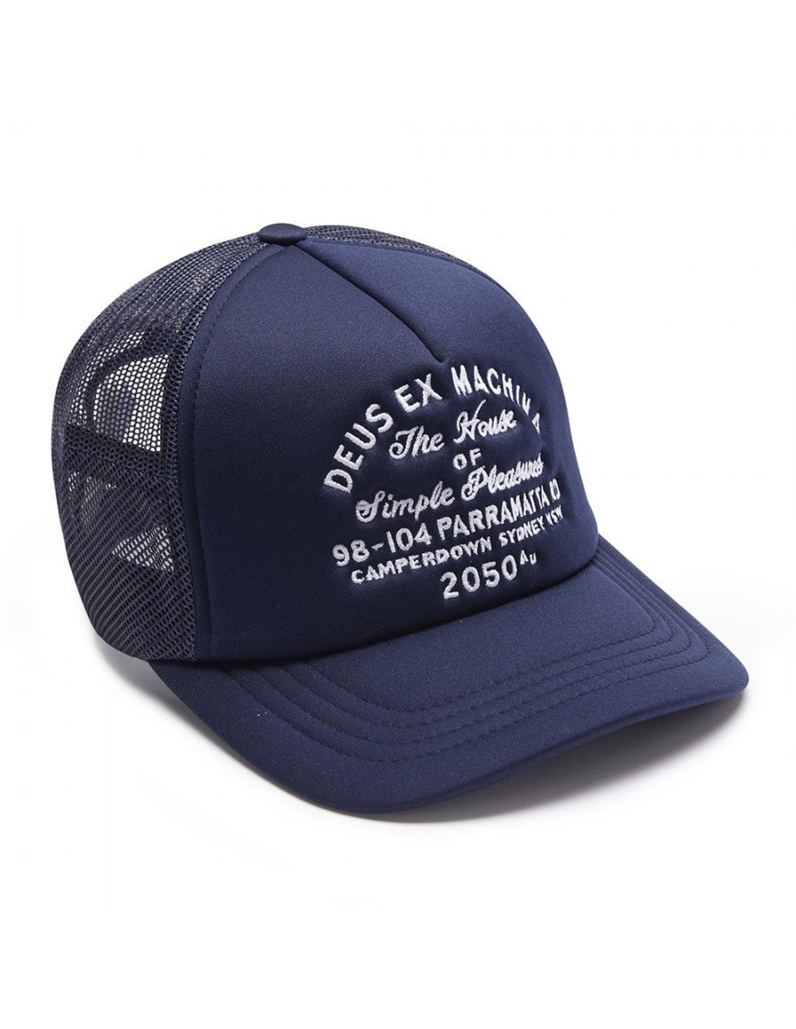 DEUS Pet Trucker Camperdown Address - navy
