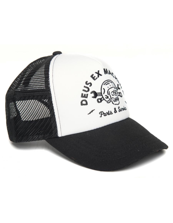 DEUS Pet Trucker Carlo - black white