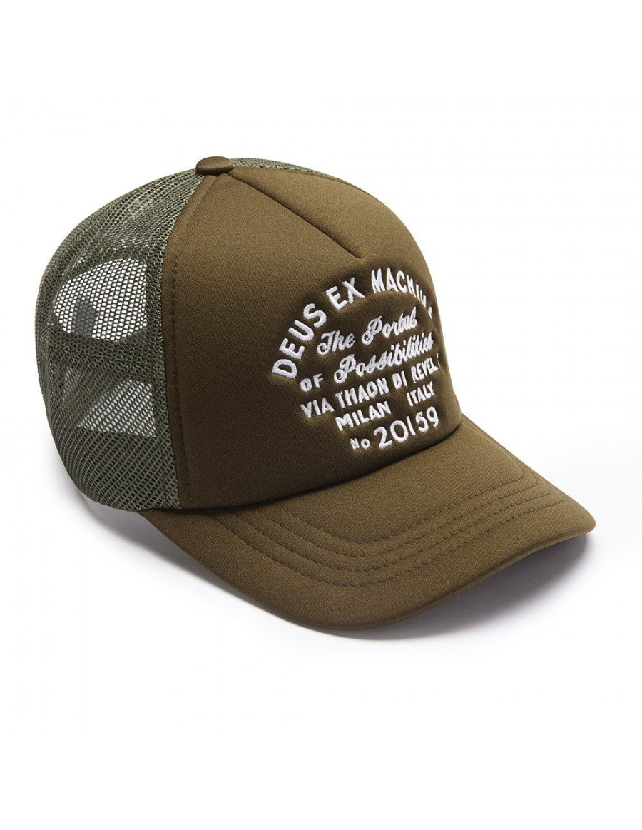 DEUS Pet Trucker Milan Address - green