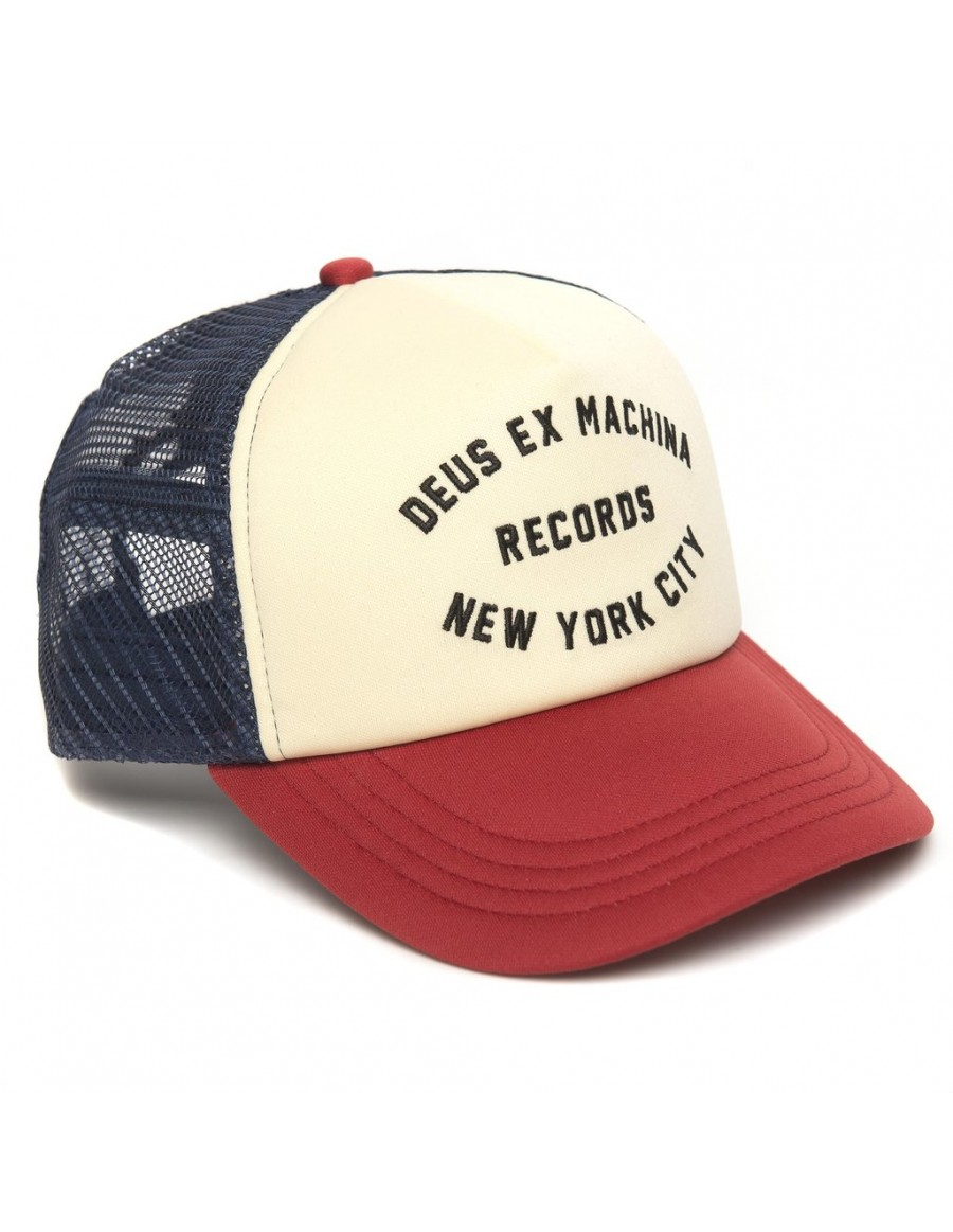 DEUS Pet Trucker NYCITY - red navy