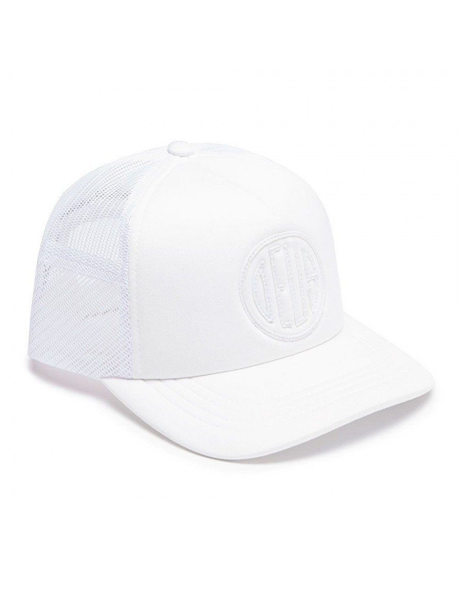 DEUS Pet Trucker Pill - white on white
