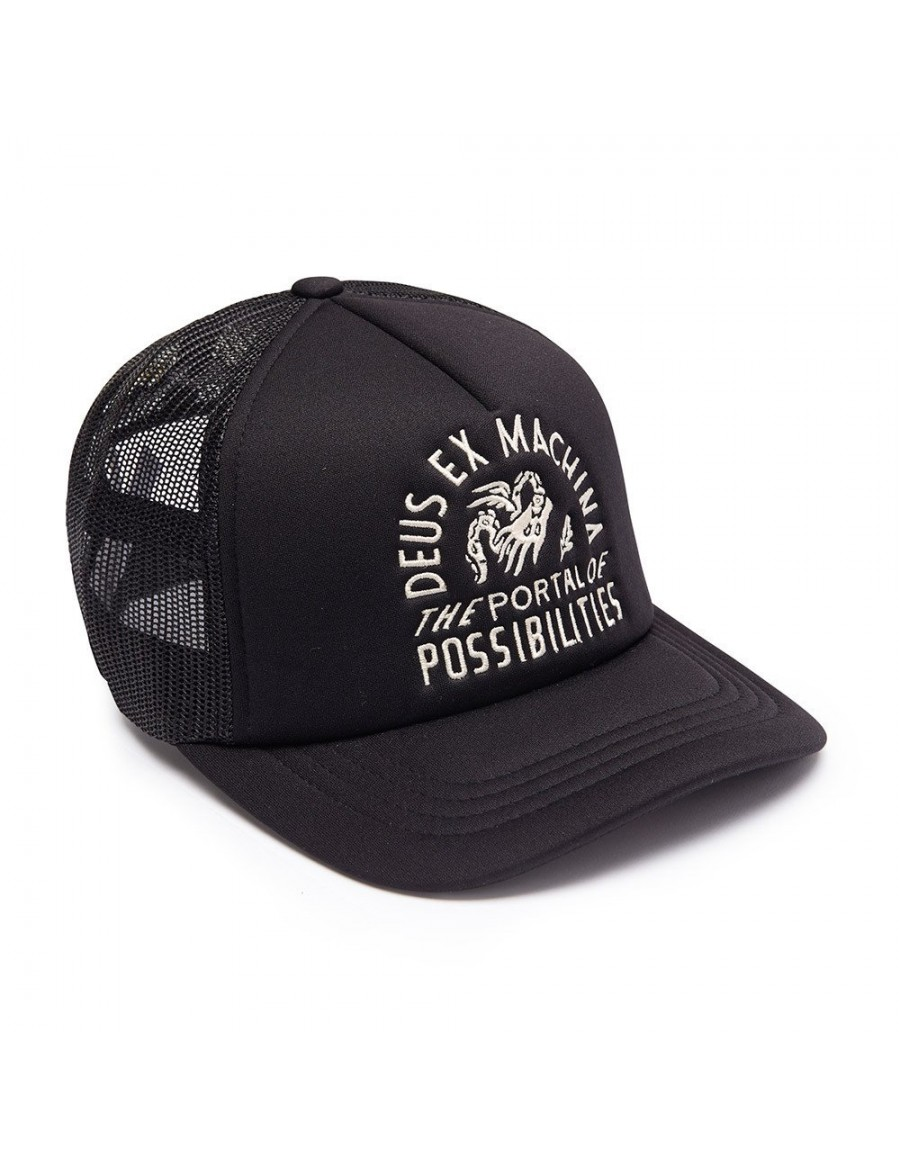 DEUS Pet Trucker PORTAL - black