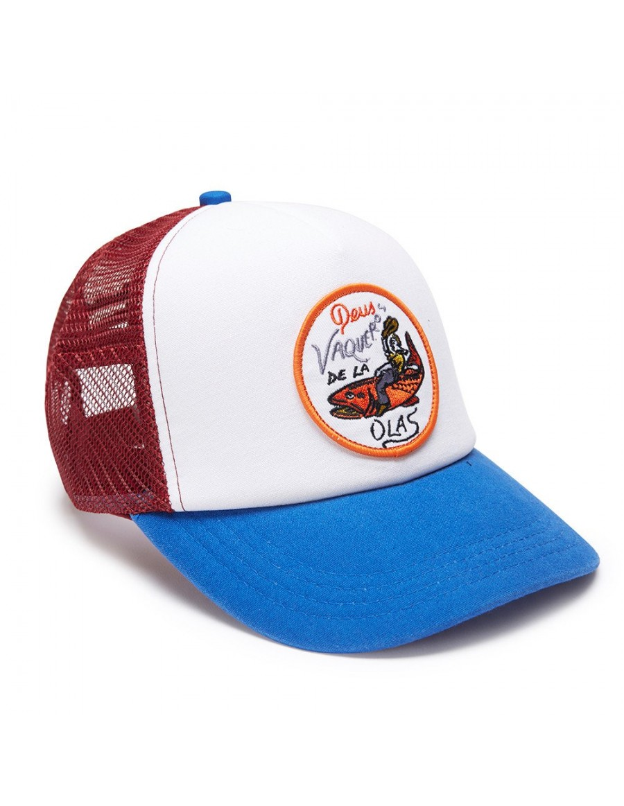 DEUS Pet Trucker Vaqueros - blue red