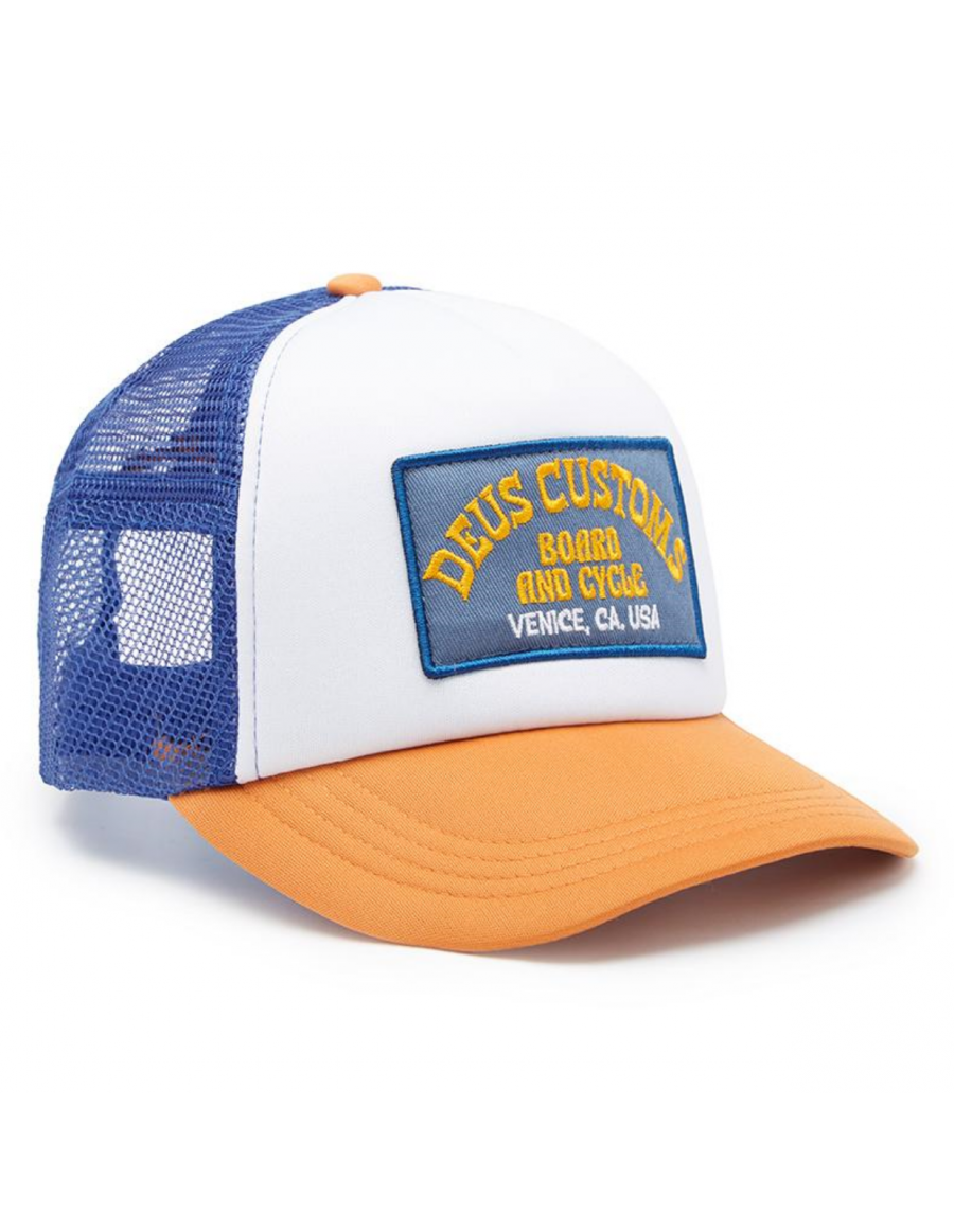 DEUS Soup Trucker cap - Orange