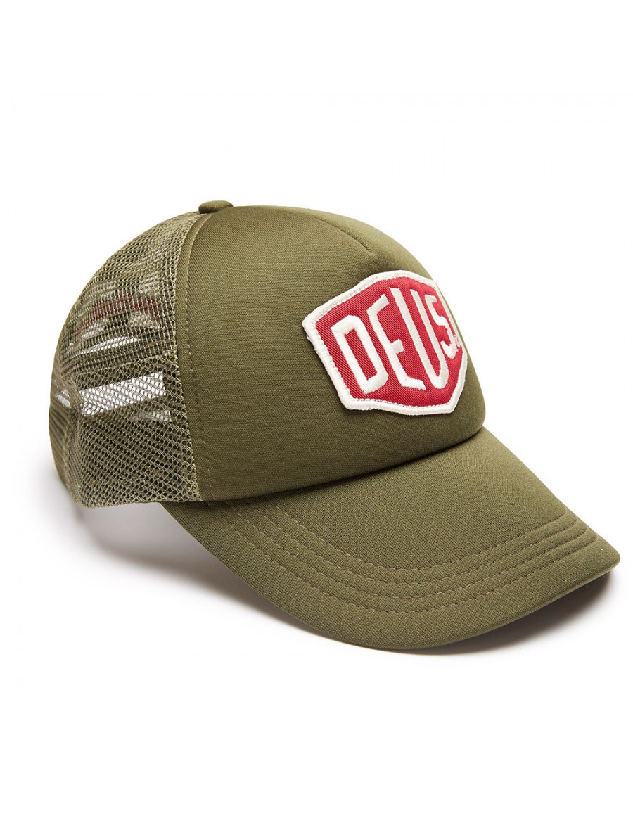 DEUS Trucker pet Colour Shield - khaki