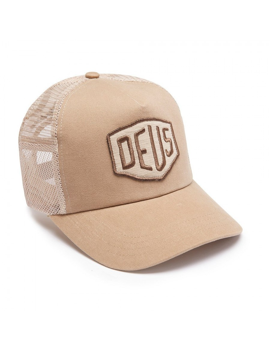 DEUS Trucker pet Foxtrot Shield - tan