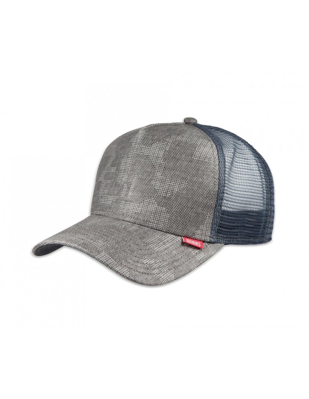 Djinn's Pixel Camo Trucker Cap grey