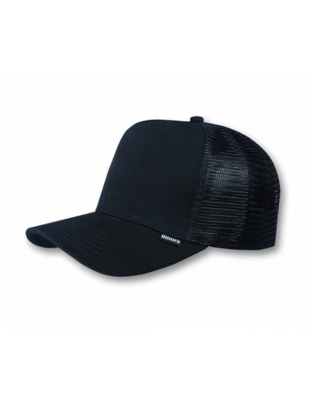 Djinn's Rib Stop Trucker Cap black