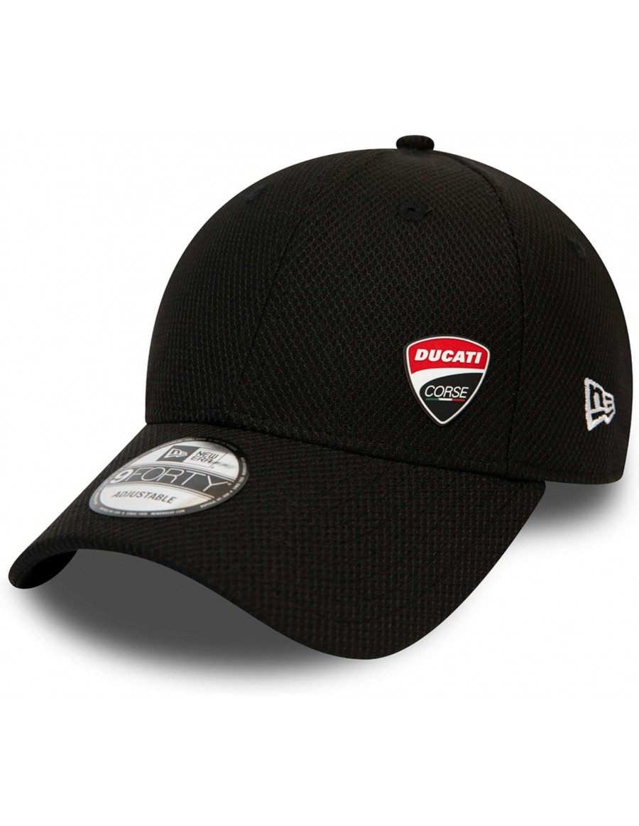 New Era 9Forty Curved cap (940) Ducati Corse - Black