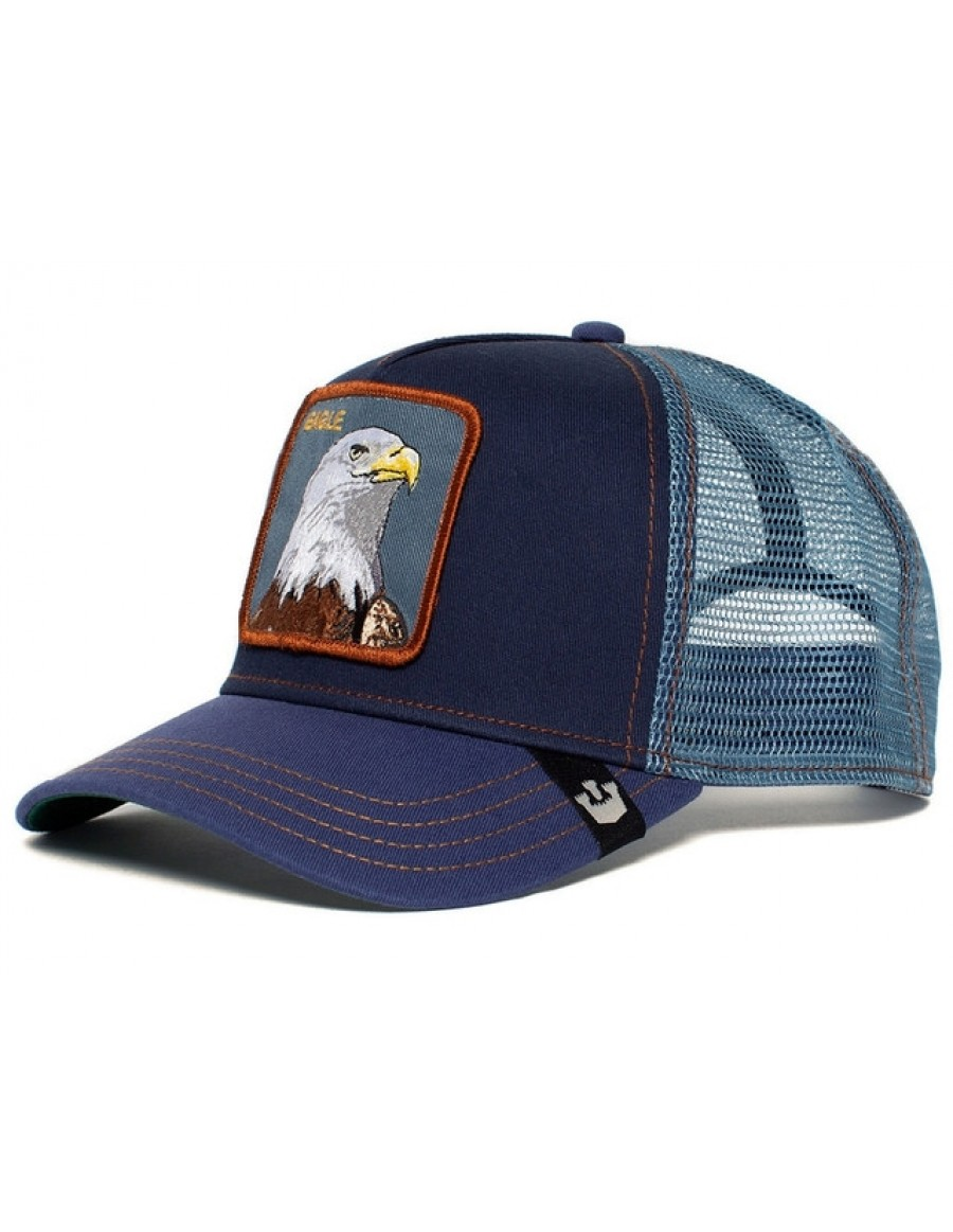 Goorin Bros. Eagle Trucker cap - Navy