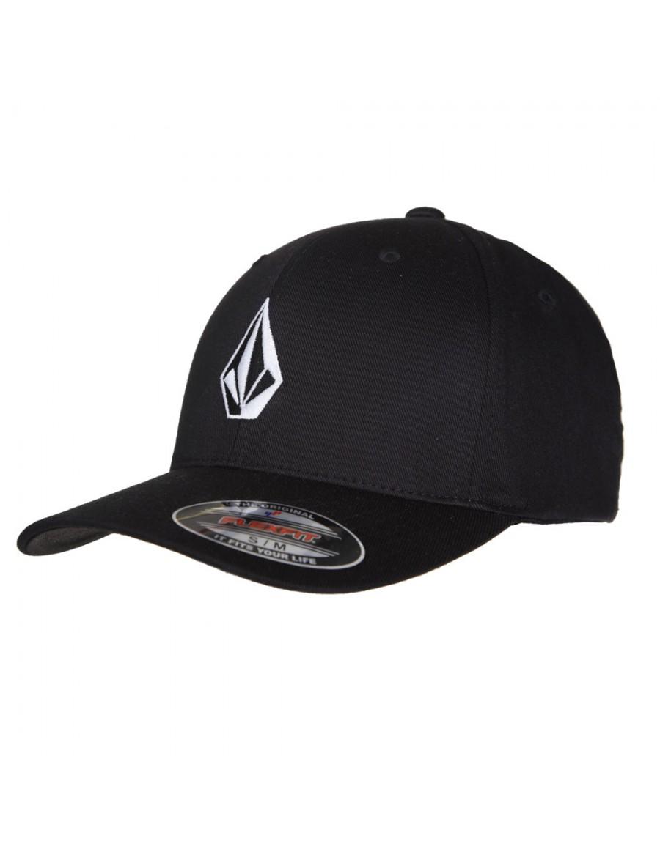 Volcom Full stone flexfit hat black