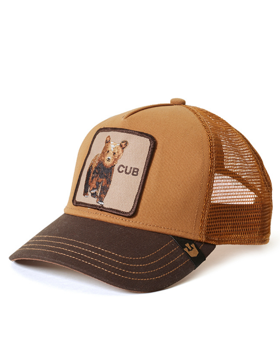 Goorin Bros. Cub Trucker cap -  Brown