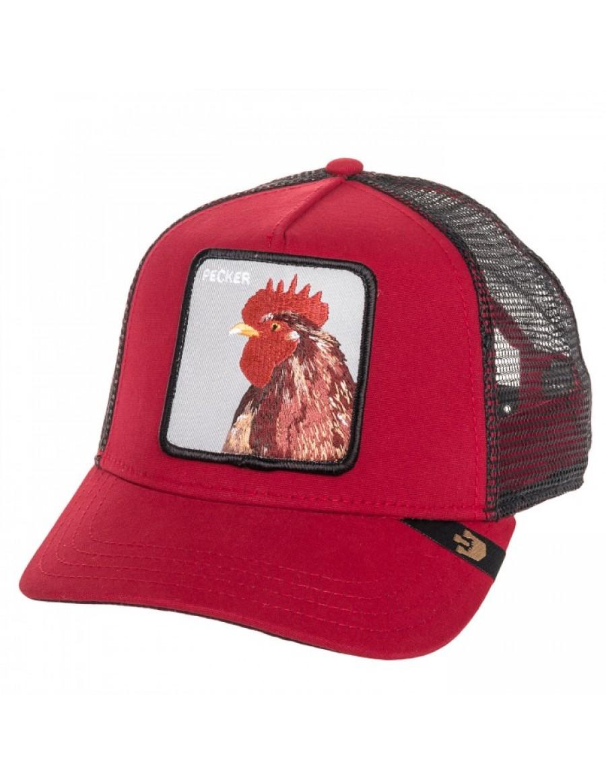 Goorin Bros. Plucker Trucker cap Red