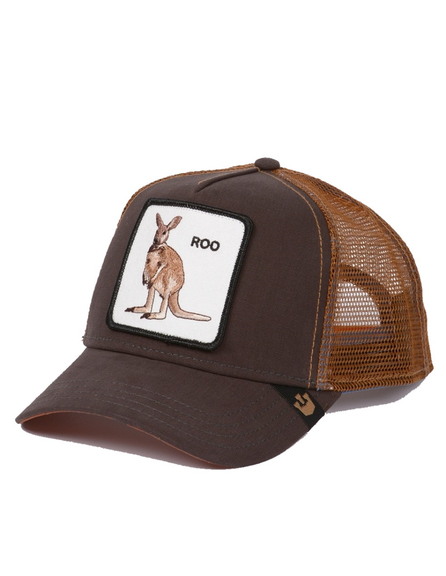 Goorin Bros. Roo Trucker cap - brown