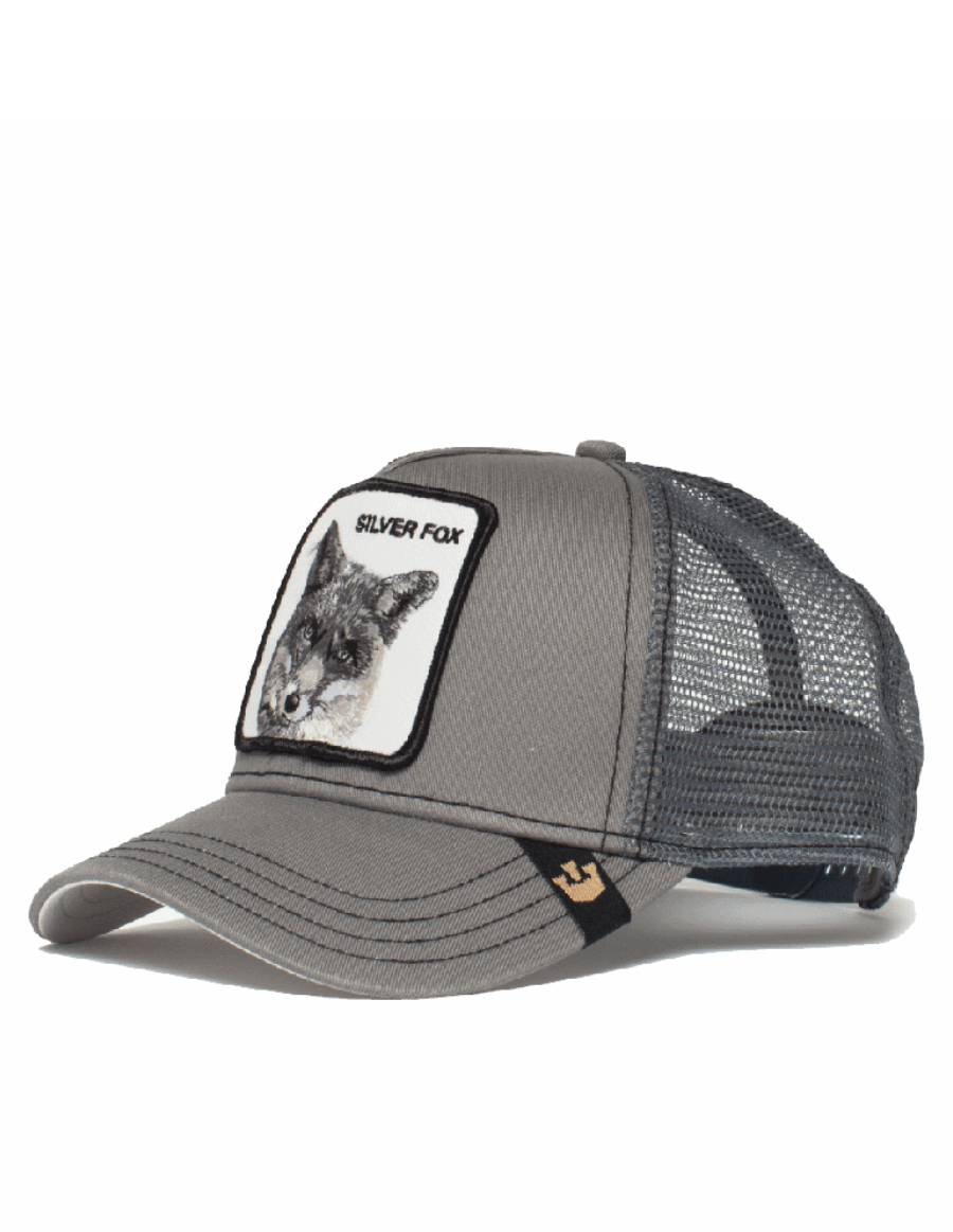 Goorin Bros. Silver Fox Trucker cap - Grey