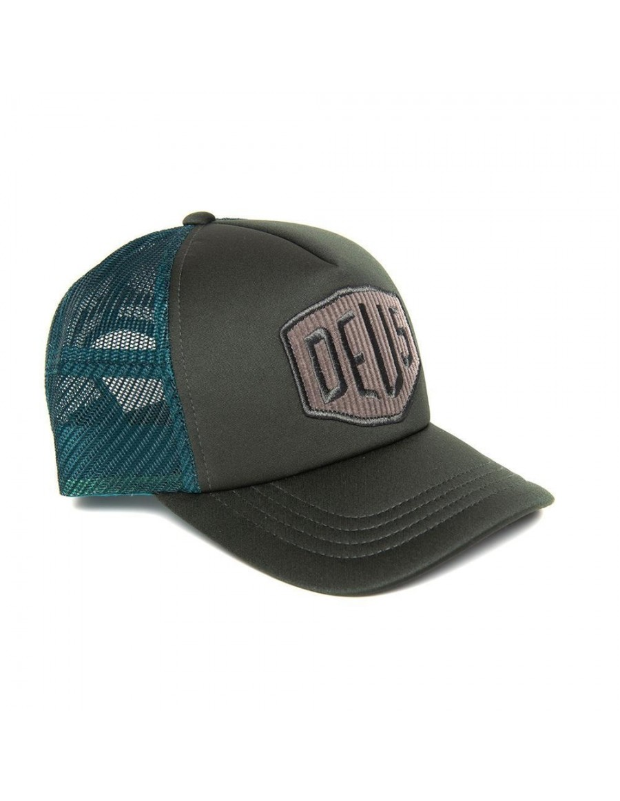 DEUS Hayward Shield Trucker cap - Forest Night