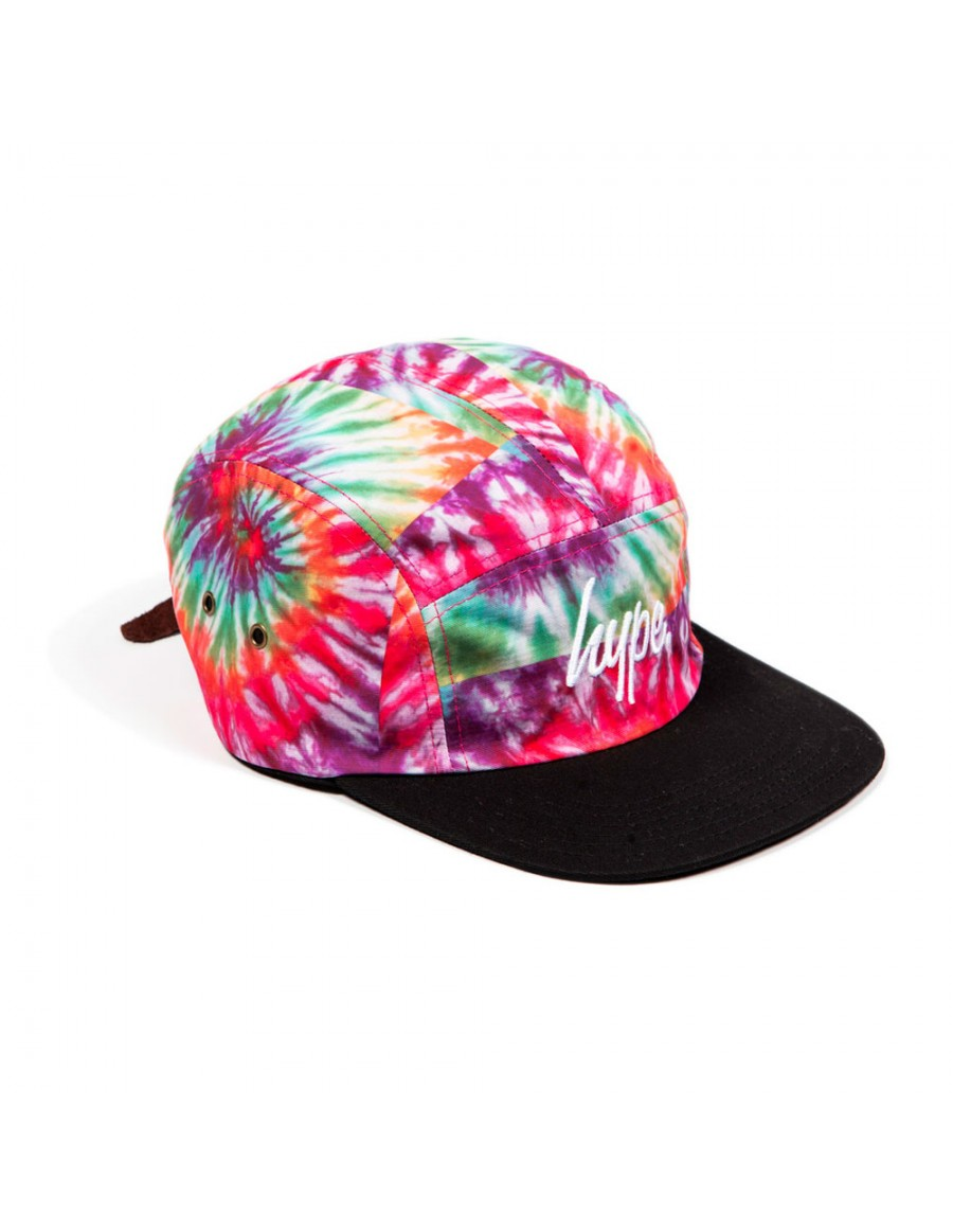 HYPE 5 panel Strapback Tie Dye - Sale