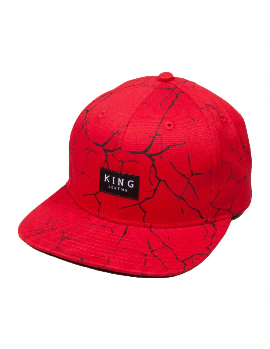 King Apparel Ethics Snapback red