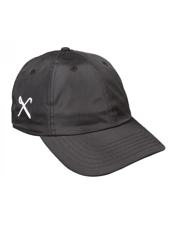 KING Apparel Hardgraft - Curved dad cap - black