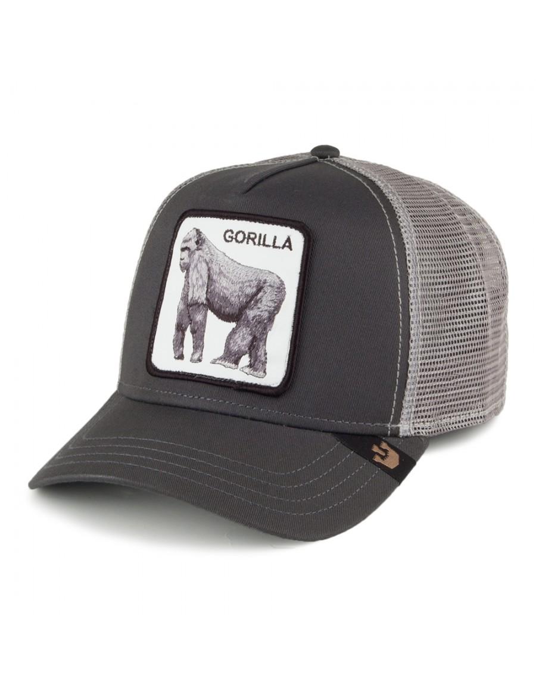 Goorin Bros. King of the Jungle Trucker cap - Grey