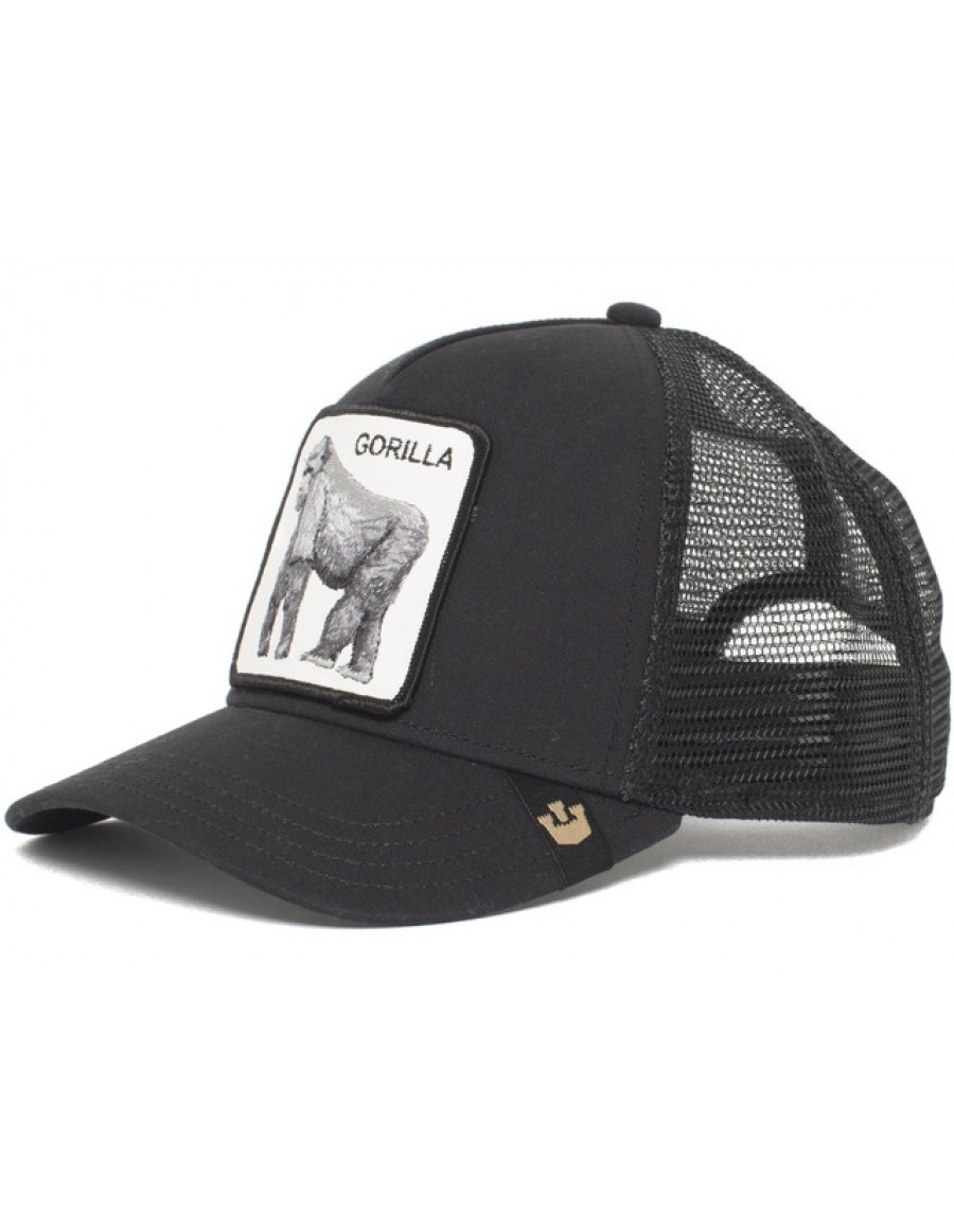 Goorin Bros. King of the Jungle Trucker cap - Black