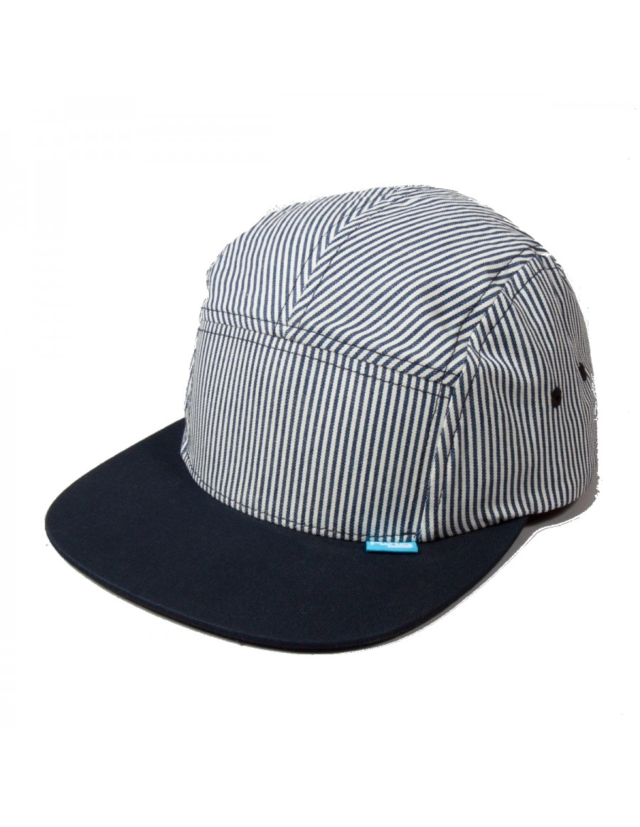 KING RS 5 panel Navy-Hickory Stripe - Sale