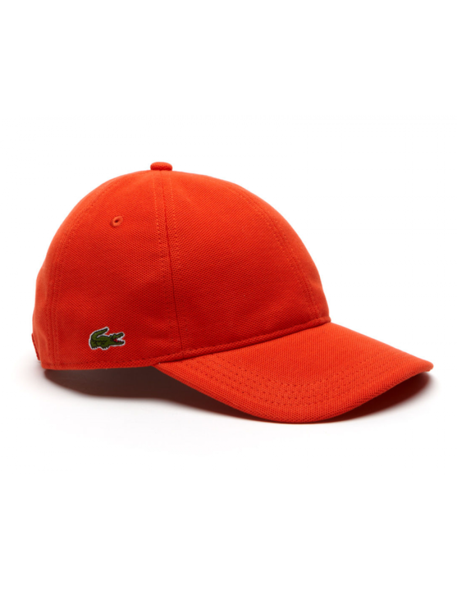 Lacoste pet - cotton pique - etna orange