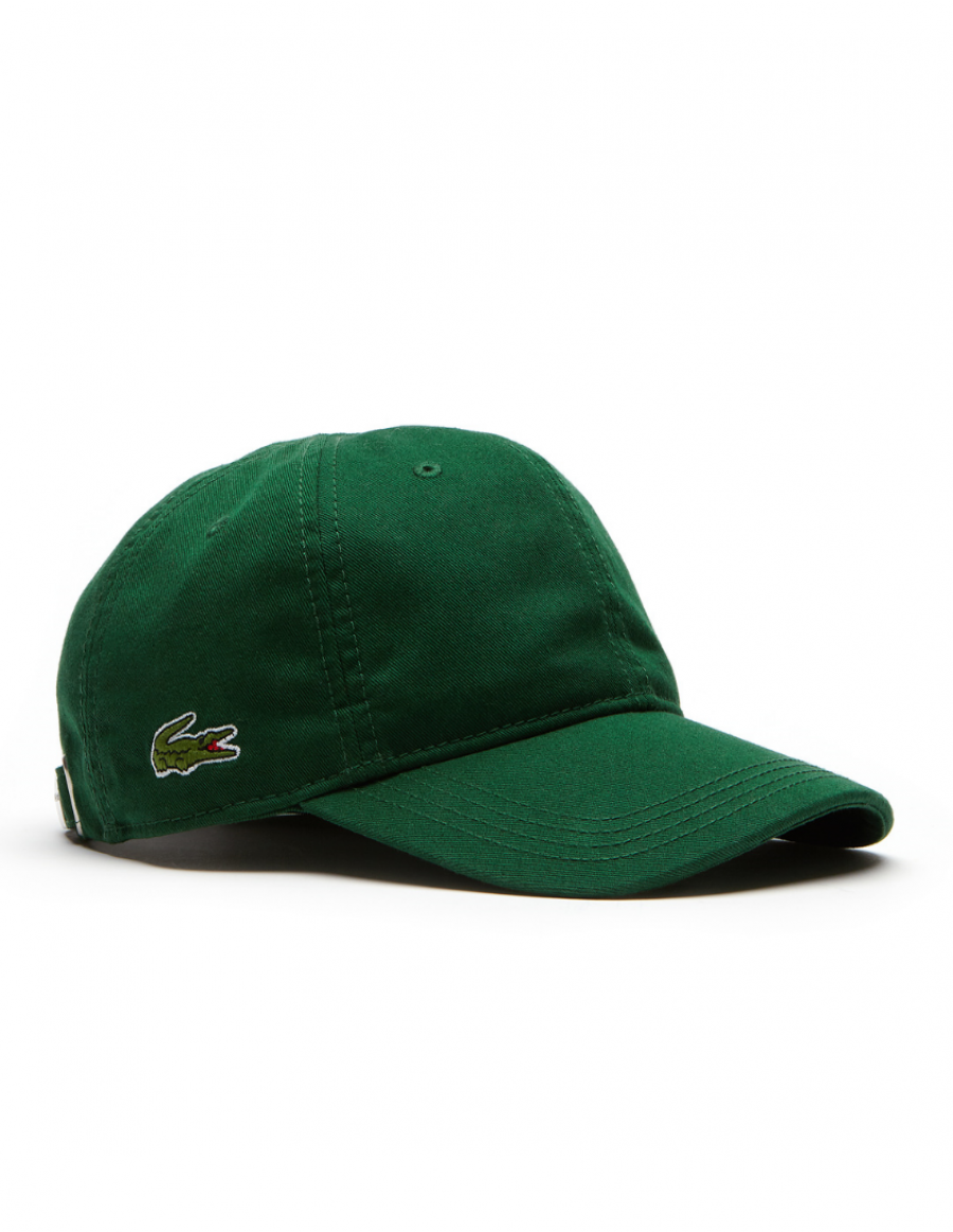Lacoste pet - Gabardine cap - Dark Green