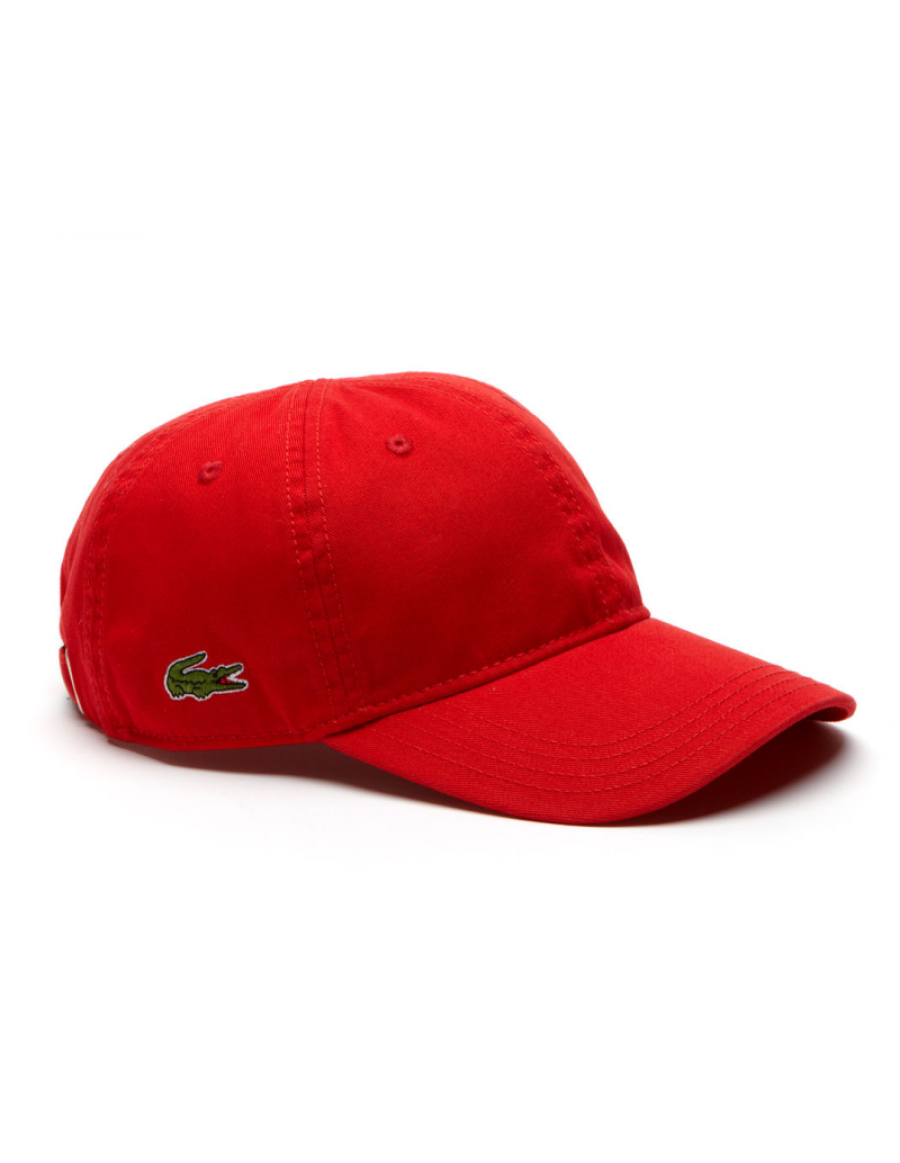 Lacoste pet - Gabardine cap - rouge red